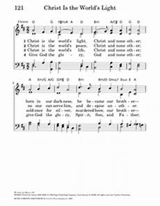 The Light Of Christ Chords Christ Is The World S Light Hymnary Org