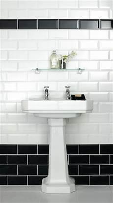 black and white bathroom tile ideas metro bevelled edge 200x100 black tile 1484 metro