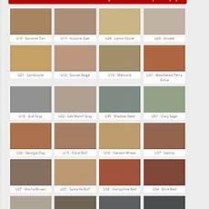 Solomon Mortar Color Chart Decorative Concrete St Henry Tile Co Concrete And