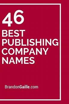Catchy Tutoring Slogans 46 Best Publishing Company Names Company Names Catchy