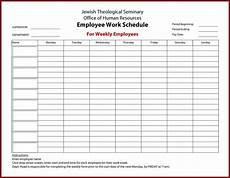 Free Weekly Work Schedule Template Excel New Timesheet With Breaks Xls Xlsformat Xlstemplates