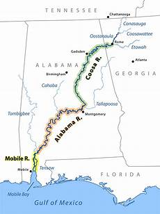 Alabama River Navigation Charts List Of Rivers Of Alabama Wikiwand