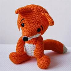 amigurumi crochet fox pattern the fox softie plush etsy