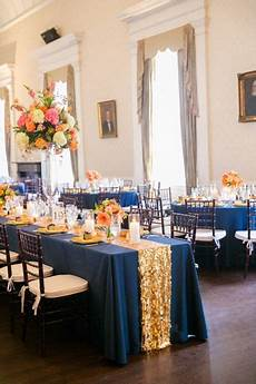 image result for blue and gold church wedding decorations