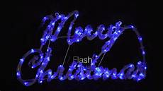 Rope Light Christmas Signs Blue Amp White Merry Rope Light Sign Youtube
