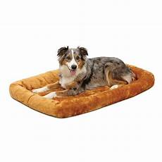 midwest quiettime pet bed crate mat cinnamon 42