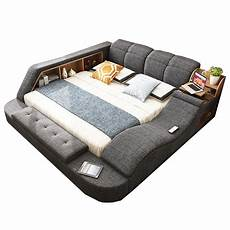 the ultimate bed with integrated chair