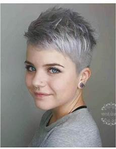 mega coole kurzhaarfrisuren frisuren ab 50 graue haare