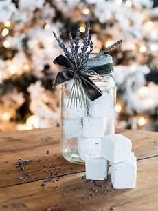 crafts gifts gift idea lavender bath fizzies hgtv