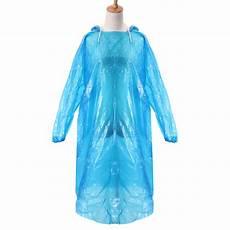 plastic coats for 1pcs disposable plastic emergency waterproof
