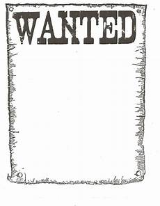 Wanted Poster Template For Pages Wanted Poster Classroom Freebies