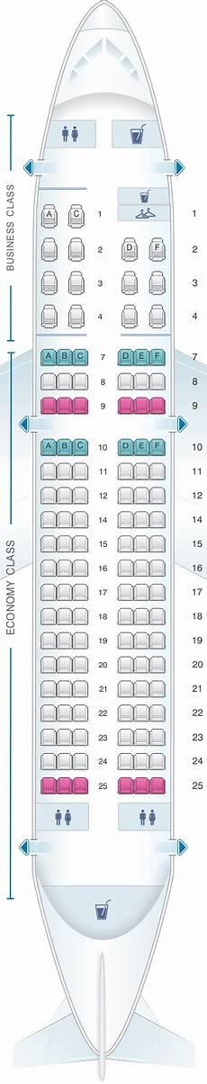 Iberia 2622 Seating Chart Seat Map Iberia Airbus A319 Two Class Iberia