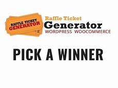 Online Raffle Ticket Generator Raffle Ticket Generator V3 Pick A Winner Option Youtube