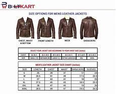 Mens Jacket Size Chart Beltkart Leather Jacket Size Chart