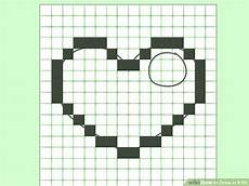 Graph Paper Art Step By Step How To Draw In 8 Bit 8 Steps With Pictures Wikihow