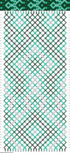 patrones de pulseras de hilo arte taringa