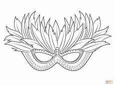 Malvorlage Karneval Maske Icolor Quot Masks Quot Venetian Masken Basteln Ausmalen