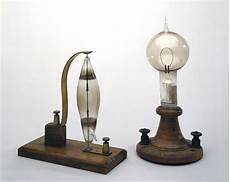 Electric Light Bulb 1879 Electric Filament Lamps Made By Swan Left And Edison