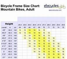 Bike Frame Size Chart Cm 1000 Images About Bikes On Pinterest