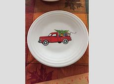 Details about Fiesta Ware IVORY CHRISTMAS TREE Luncheon