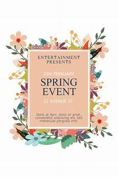 Spring Event Flyer Template New Flyer Templates For Spring Amp Garage Sales Design Studio