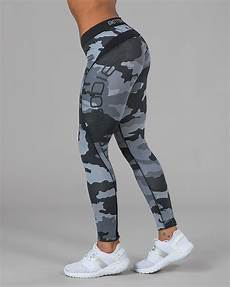 Better Bodies By Design Better Bodies Womens Camo Long Tights Grey Camoprint