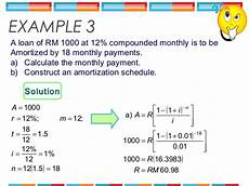 Amortization Math Formula Amortization Table Definition Math Review Home Decor