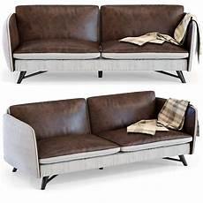 Sofa Cover 3 Seater Leather 3d Image kare sofa fashionista leather canvas 3 seater 3d model max obj