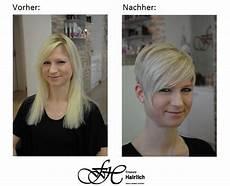 frisuren für sehr feines haar vorher nachher lange haare kurze haare vorher nachher