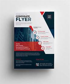 Flyer Design Examples Plutus Professional Corporate Flyer Template 001008