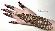 Hennagir Designs Henna Art 4 Beautiful Circular Mehendi Design With