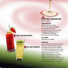 creating drink recipes