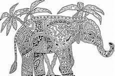 Afrikanische Muster Malvorlagen Zum Ausdrucken Elefant Malvorlage Zum Ausdrucken Malvorlagen Tiere