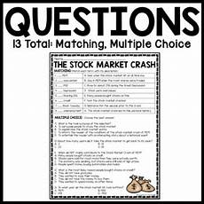 Stock Market Worksheet What Is The Stock Market Worksheet