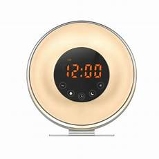 Best Wake Up Alarm Clock Light Best Seller Sunrise Led Display Wake Up Light Alarm Clock