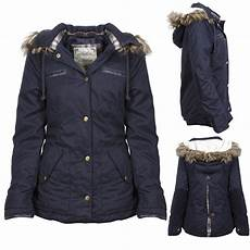 coats for size 16 new womens navy blue button up parka jacket coat fur trim