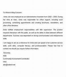 Sample Letter Of Recommendation For New Graduate Nurse Recommendation Letter For Nurses Reference Letter