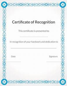 Volunteer Award Certificate Template Free Printable Volunteer Recognition And Appreciation