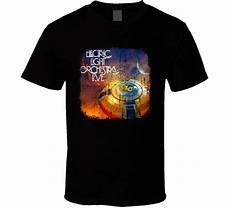 Vintage Electric Light Orchestra T Shirt Fashion 2018 Summer Electric Light Orchestra 70s Classic