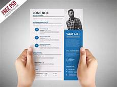 Cv For Graphic Designer Pdf Free Graphic Designer Cv Resume Template In Photoshop Psd