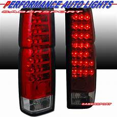 Nissan Hardbody Clear Lights Pair Red Clear Quot L E D Quot Type Led Lights For 86 97