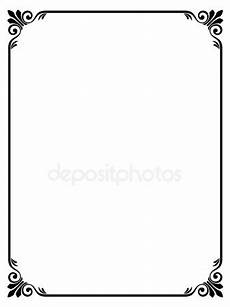 immagini cornici da stare semplice cornice decorativo ornamentale vettoriali stock