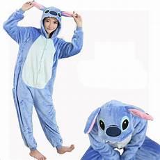 character stitch pajamas set coral fleece