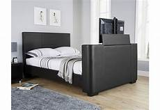 gfw furniture newark electric tv bedstead 150cm black