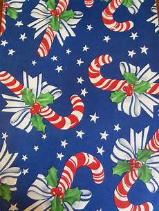 Christmas Paper Backgrounds Vintage Christmas Wrapping Paper 1940 S Candy Canes