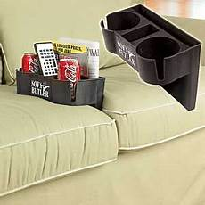 Sofa With Cup Holder 3d Image by Details About Tv Remote Holder Sofa Armrest