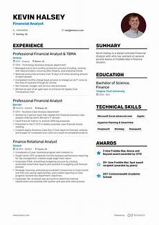Experienced Hr Analyst Resume Download Financial Analyst Resume Example For 2020
