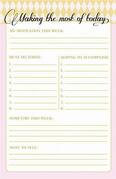 Daily To Do Checklist 10 To Do Lists As Pretty As They Are Useful