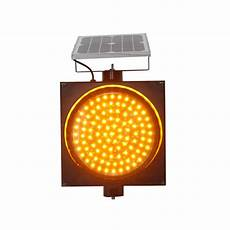 Traffic Light Flasher Module 300mm Road Safety Yellow Led Signal Solar Warning