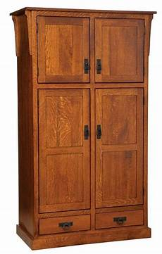 amish mission rustic kitchen pantry storage cupboard roll